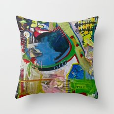 Basqui NOT #2 Throw Pillow