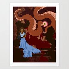 grotesquerie Art Print