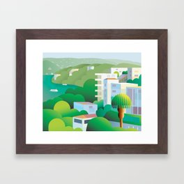 Acapulco Framed Art Print