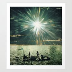 16H57 Art Print