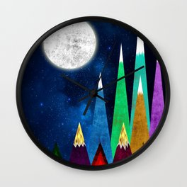 Great Moonlight Wall Clock