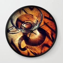 Tea Cup Wall Clock