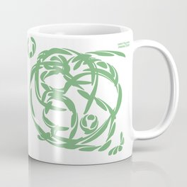 SWEET FLAG GREEN: feel your heart at rest Coffee Mug
