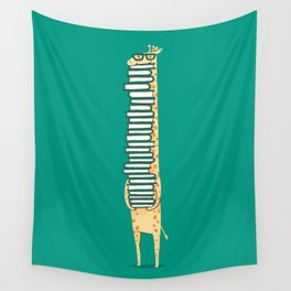 A book lover Wall Tapestry