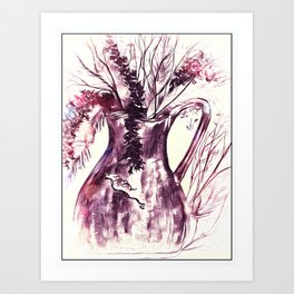 Gentle Caresses Of Nature Art Print