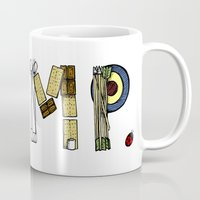 camp Mugs featuring CAMP. by AnnieInk