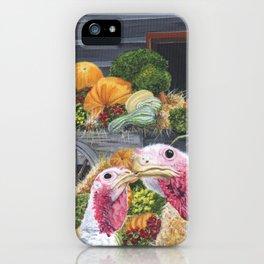 Fall Turkeys iPhone Case