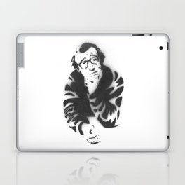 Woody Allen Portrait Laptop & iPad Skin