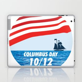 The Expedition to the End of the World - Happy Columbus Day Laptop & iPad Skin