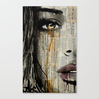 Canvas Prints featuring silent jungle by LouiJoverArt