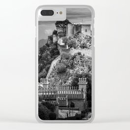 Castles of Xativa, Spain Clear iPhone Case