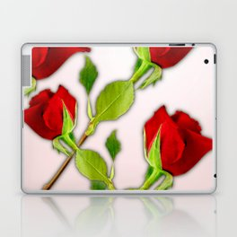 Red Rose For My Valentine Day Laptop & iPad Skin