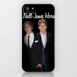 Niall James Horan iPhone Case