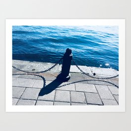 Bosphorus Strait Art Print
