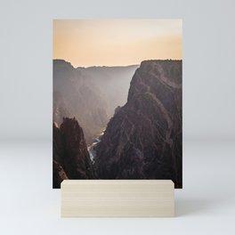 Gunnison Haze Mini Art Print