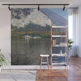 Hallstatt lake  Wall Mural