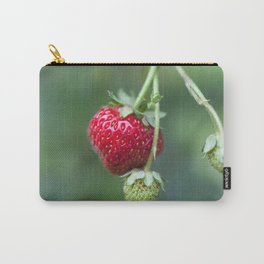 Red Ripe Strawberry Carry-All Pouch
