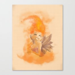 Fire fairy 2 Canvas Print