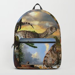 Jurassic dinosaurs being born Backpack