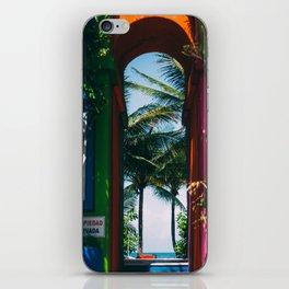 Akumal Caribbean Archway iPhone Skin