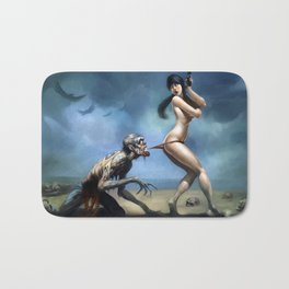 WELCOME TO MIAMI, Zombie years Cover Bath Mat