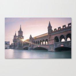 Berlin Oberbaumbridge Canvas Print
