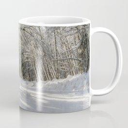 Covered in White Coffee Mug