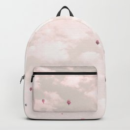 Hot Air Balloons, Violet Backpack