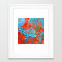 coral Framed Art Prints featuring Coral  by haroulita