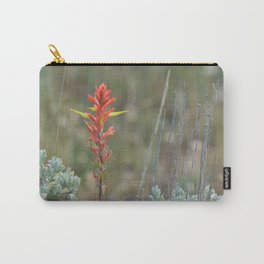Lone Indian Paintbrush Carry-All Pouch