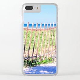 Just Another Day at the Beach Clear iPhone Case