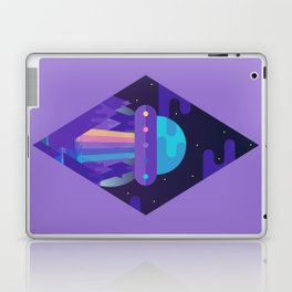 ROYGBIV Flying-Saucer Laptop & iPad Skin