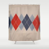 tennis Shower Curtains featuring tennis, anyone? by domm