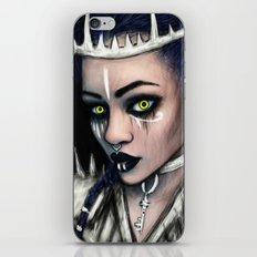 Vampire's Gaze iPhone & iPod Skin