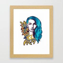 AROHA Framed Art Print