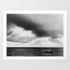 If I Had a Boat / Cap Haitian, Haiti Art Print