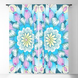Angels Among Us Mandala Blackout Curtain