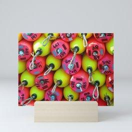 Floats By The Sea Mini Art Print