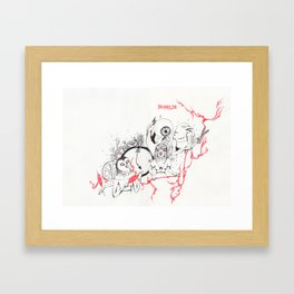 The Three Fates Framed Art Print