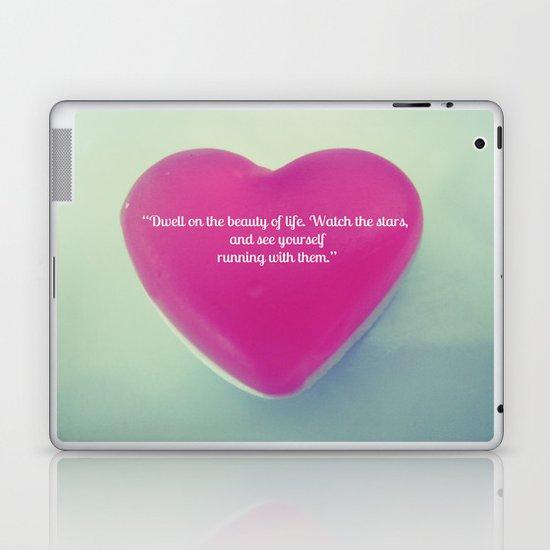 QUOTE ME Laptop & iPad Skin