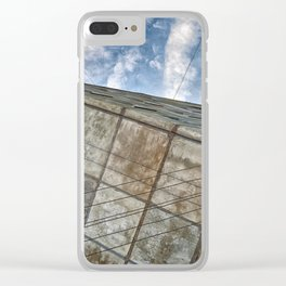 Sinking Building Sky of Dread Clear iPhone Case