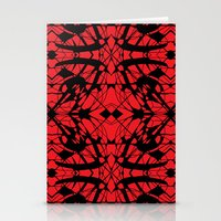 cracked Stationery Cards featuring Cracked by Katherine Farah