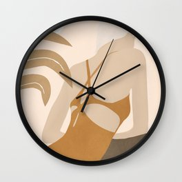 Summer Day III Wall Clock