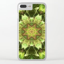 Planet Tree Clear iPhone Case