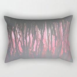 """Negitive Space"" Rectangular Pillow"