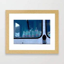 Empty Bottles Empty Dreams Framed Art Print
