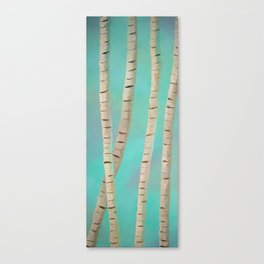 Lazy Birch Canvas Print