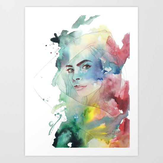You are my muse tonight Art Print