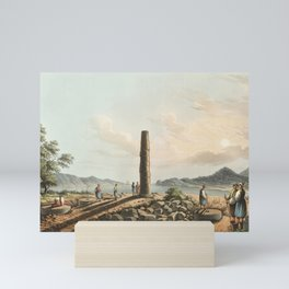 Ruins of the Temple of Juno in Samos from Views in the Ottoman Dominions, in Europe, in Asia, and so Mini Art Print