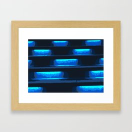 Neon Singapore Nights Framed Art Print